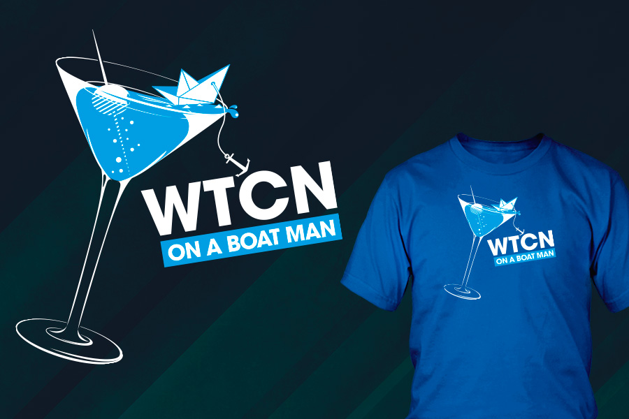 WTCN, On a boat man