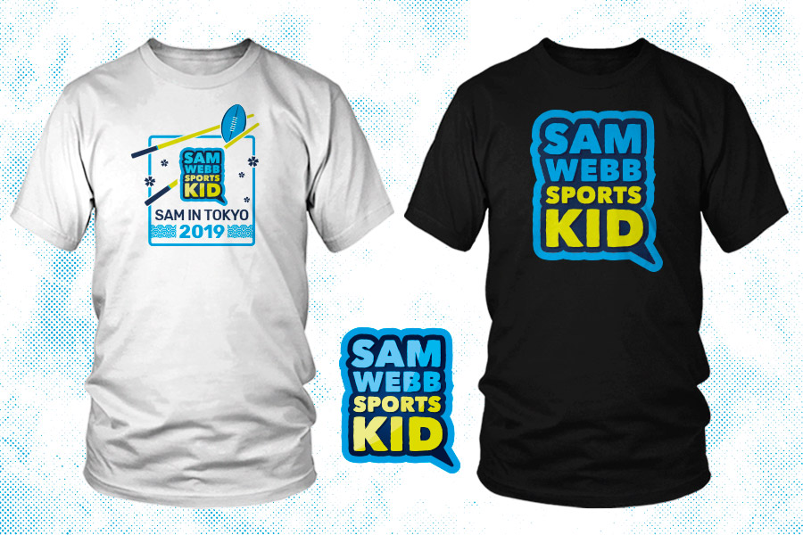 Sam Webb, Sport Kid